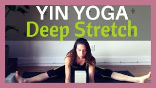 Yin Yoga for a Deep Hip Stretch - Hip Opening Yoga Stretches