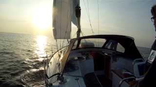 Bavaria 40 Cruiser sailing