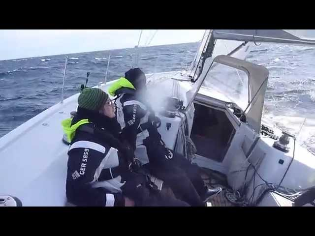 Wintersailing in the Ionian Sea