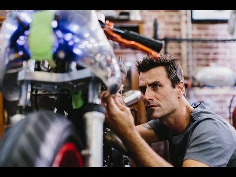 Meet Bryan Fuller: Custom Motorcycle/Car Builder & Host of TV Show 'NAKED SPEED' on Velocity