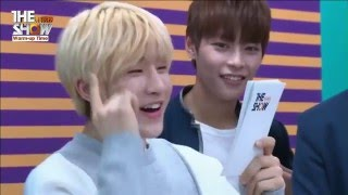 eng sub the show live chatting with knk and astro 160322