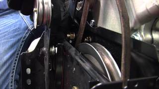 Replacing the Drive & Auger Belts