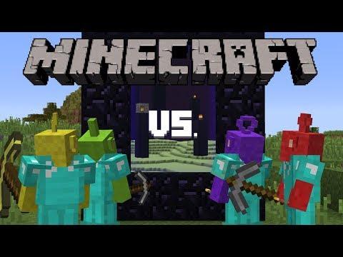 Teletubbies VS Minecraft