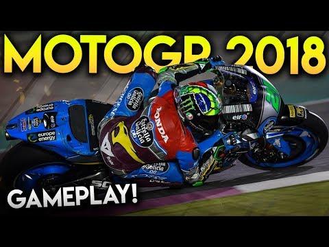 MotoGP 2018 | Mod Gameplay Racing as Morbidelli at Jerez GP (MotoGP 2018 Game Mod)