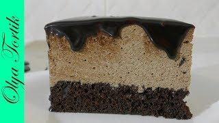 Шоколадный торт ПТИЧЬЕ МОЛОКО Подробный рецепт /// Olya Tortik Домашний Кондитер