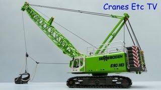 ROS Sennebogen 690 HD Dragline by Cranes Etc TV