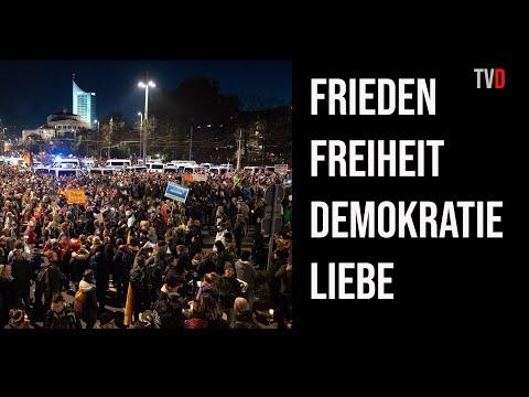 Wie 1989: Demo 2020 in Leipzig erobert die Straße!