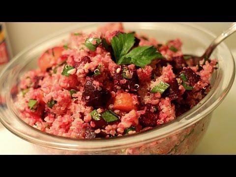 Quinoa Recipe with Roast Vegetables