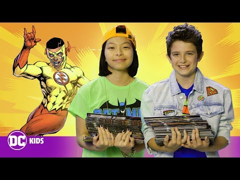 Free Comic Book Day! | Behind the Scenes at DC HQ  | DC KIDS SHOW
