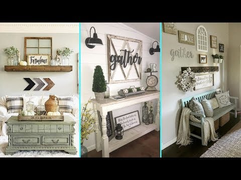 ❤ DIY Rustic Farmhouse Style Wall decor Ideas❤ | Home decor & Interior design| Flamingo Mango