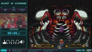Secret of Evermore by MetaSigma in 1:38:59 AGDQ 2018