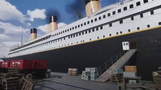 Walk the entire Titanic in Unreal Engine 4