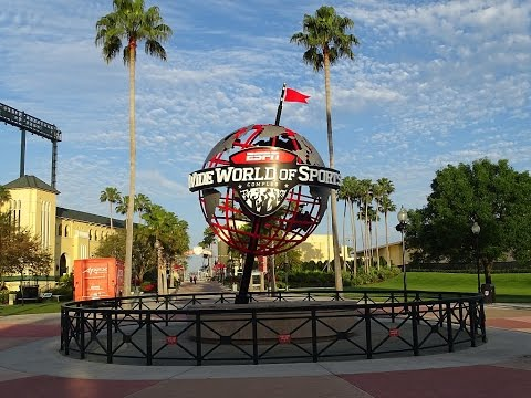 Take a tour of ESPN Wide World of Sports April 8, 2016