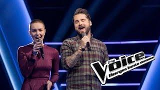 Stig Gustu Larsen vs. Rebecca Pettersen – Falling Slowly | Duell | The Voice Norge 2019
