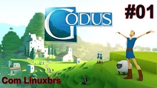 Godus #01 - Gameplay Android - Samsung Galaxy Tab S - Português