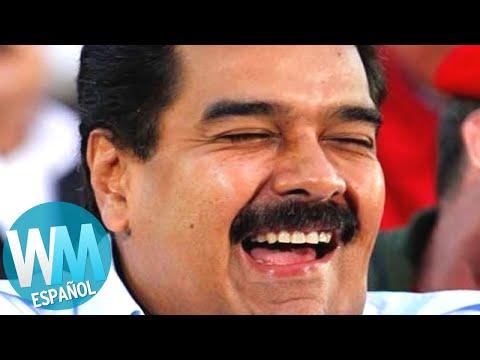 ¡Top 10 MABURRADAS de Maduro!