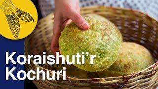 Koraishutir Kochuri Recipe–Green Peas-Hing Kachori–Motorshutir Kochuri–Bengali Vegetarian Recipe