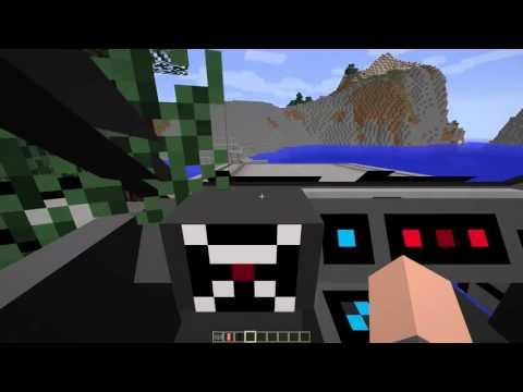 Minecraft Geleceğe Dönüş Modu fragman