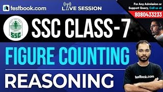 SSC Class 7 | Reasoning Class on Figure Counting | Study with Parikalp Sir
