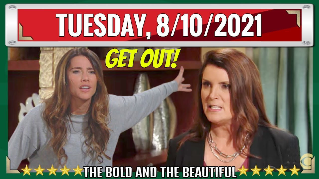 Download Full CBS New B&B Tuesday, 8/10/2021 The Bold and The Beautiful UPDATE Episode (August 10, 2021)