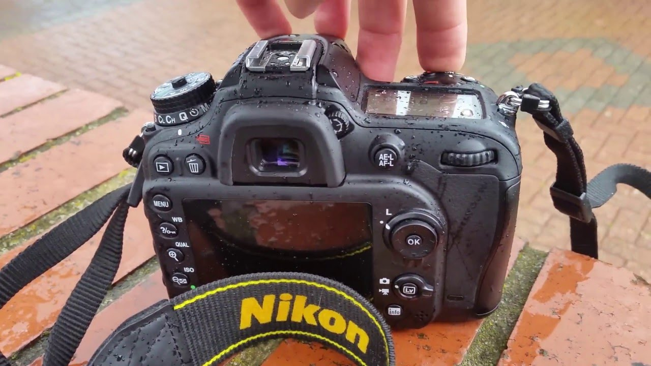 Camera Weather Sealed Dslr Cameras nikon d7200 weather sealing test youtube test