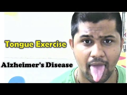 Alzheimer's Disease | Tongue Exercise | 10 times | Stimulates Brain