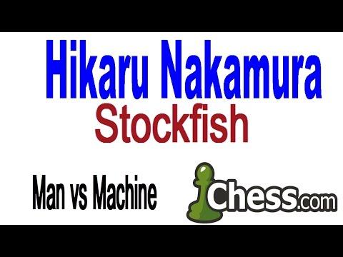 ♚ Stockfish vs GM Hikaru Nakamura ☆ Game 2 ☆ Chess.com August 23 2014