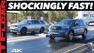 Download Ford Explorer ST vs Dodge Durango SRT Drag Race - Can a $600 Tune Beat America's Fastest 3-Row SUV? Mp3 and Videos