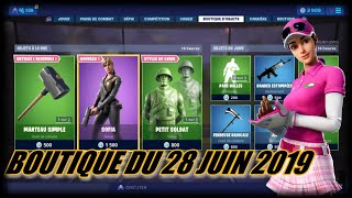 FORTNITE: June 28th Shop, NEW SKIN SOFIA, NEW DERADICALE FENDEUSE PIOCHE, item shop
