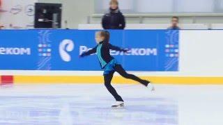 Дарья Батяева, 10 лет, прыжковые элементы