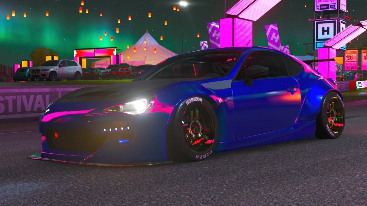 Forza Horizon 4 - Subaru BRZ Drift Build - Blue Rocket Bunny