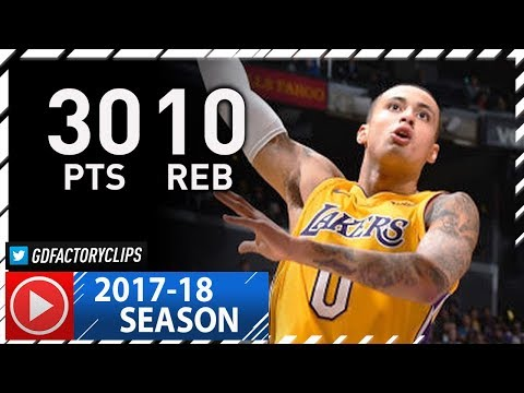 Kyle Kuzma Full Highlights vs Suns (2017.11.17) - Career-HIGH 30 Pts, 10 Reb