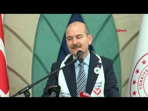 İçişleri Bakanı Süleyman Soylu Ankara'da konuşuyor