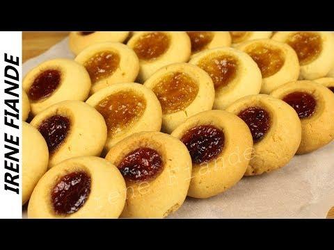 Хрустящее Песочное печенье с вареньем. Готовьте сразу побольше!