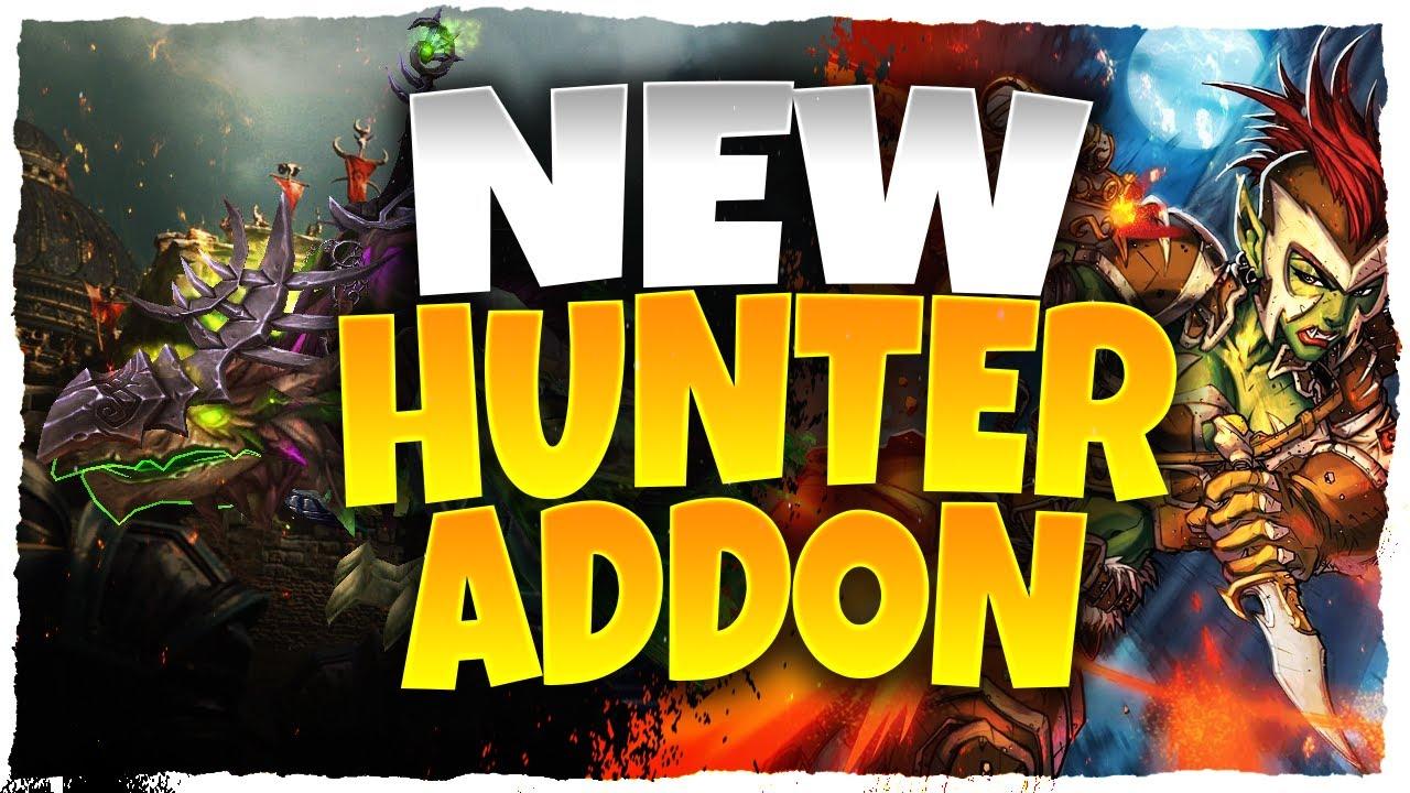 New Hunter Pet Addon World Of Warcraft Youtube