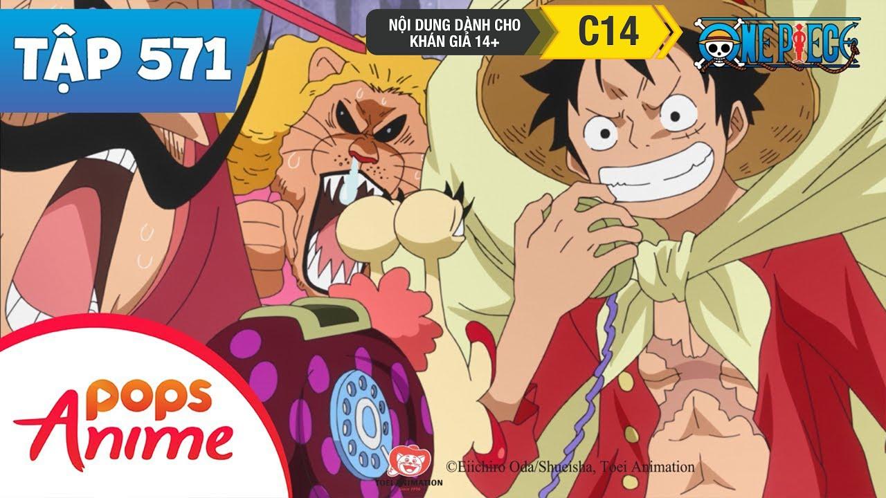 One Piece Tập 571 - Kẻ Hảo Ngọt! Tứ Hoàng Big Mom - Đảo Hải Tặc