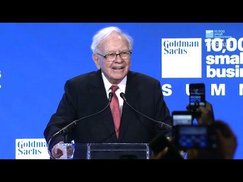 Remarks by Warren Buffett