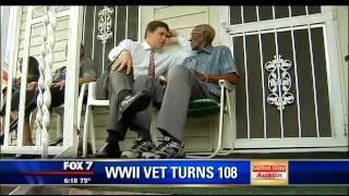 Oldest living WWII vet Richard Overton