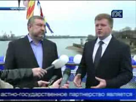 В Череповце открылась первая плавучая гостиница