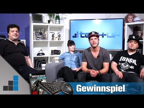 Tech-up zieht in neues Studio / Verlosung von Watch Dogs & Zubehör von Cherry | deutsch / german