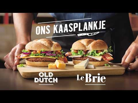 Ons Kaasplankje | Old Dutch en Le Brie | McDonald's