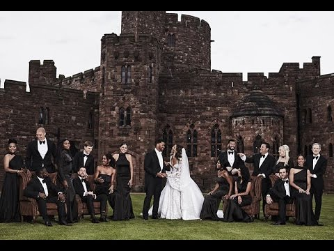 Ciara and Russell Wilson Get Married in England Wedding