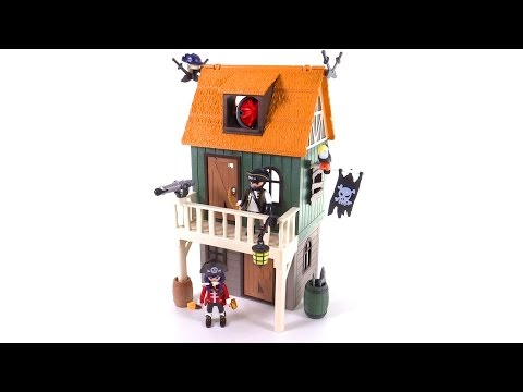 Playmobil Super 4 Camoflage Pirate Fort with Ruby reviewed! set 4796