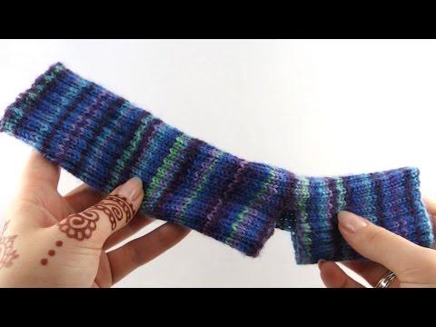 Yoga Socks 1 Cast On Youtube