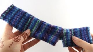Yoga Socks #1 Cast on