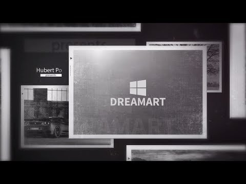 After Effects Slideshow Template #2 + Free Download || DREAMAR GALLERY||