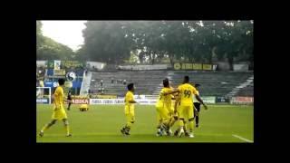 Video Gol Pertandingan Persegres Gresik United vs Pusamania Borneo FC
