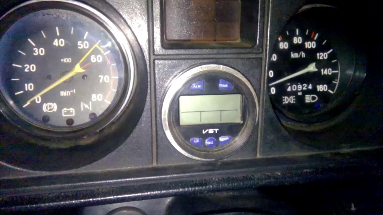 Vst-7042v (электронные часы, термометр, вольтметр для автомо. Автомобильные часы vst 7045 lcd-дисплей с синей подсветкой выносной датчик.