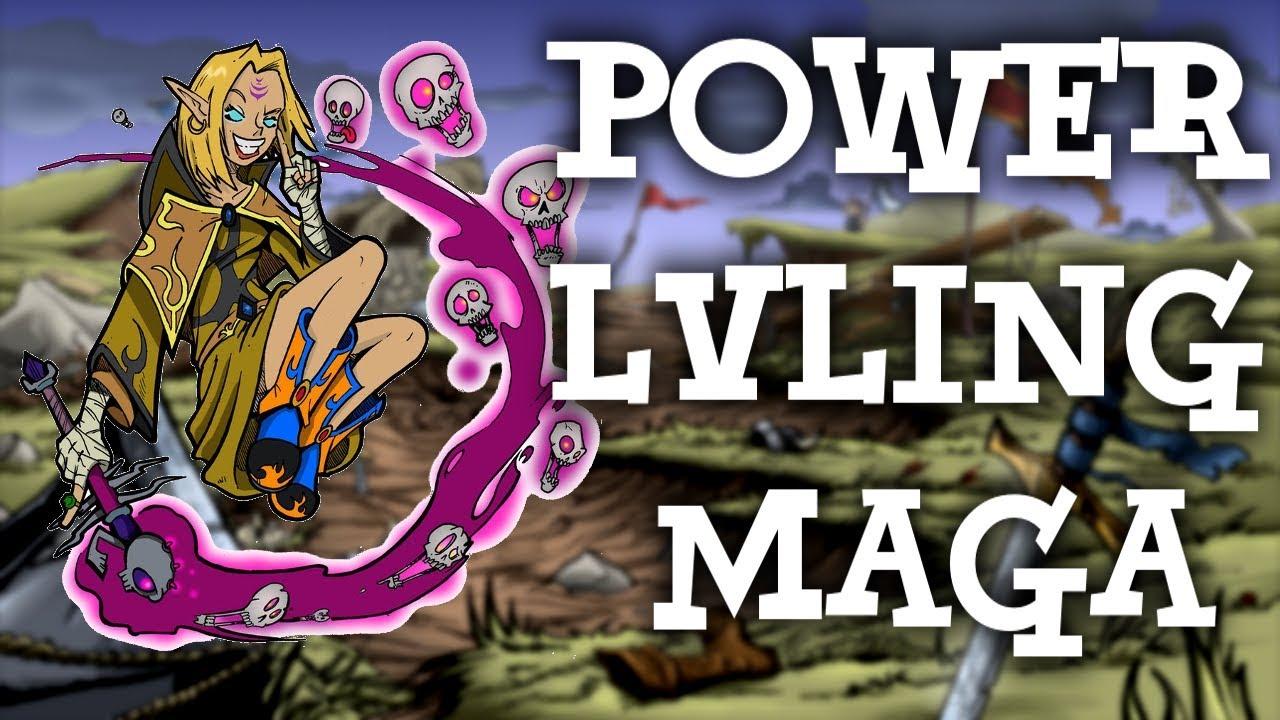 POWER LVLING MAGA! – Shakes & Fidget #175