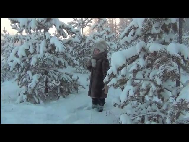 Изображение предпросмотра прочтения – «Березкина Чэлгийээнэ, Беляев Сергей» читают произведение «Мороз, Красный нос» Н.А.Некрасова